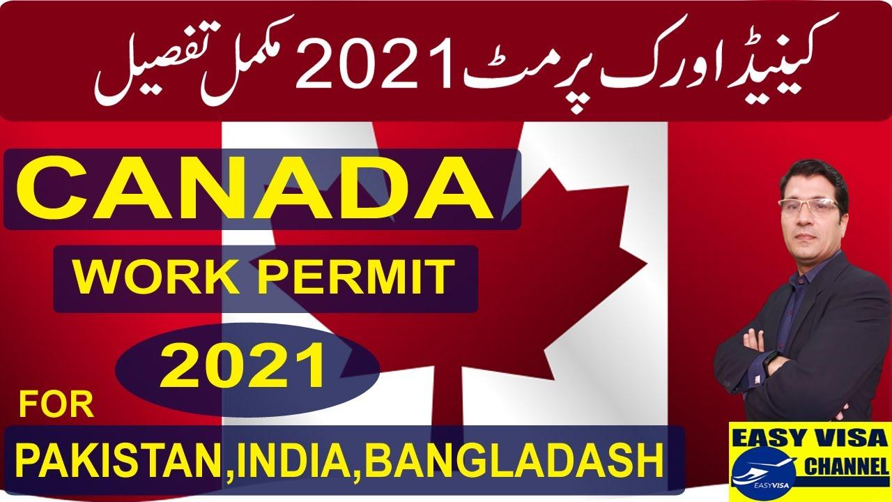 Canada Work Permit 2021