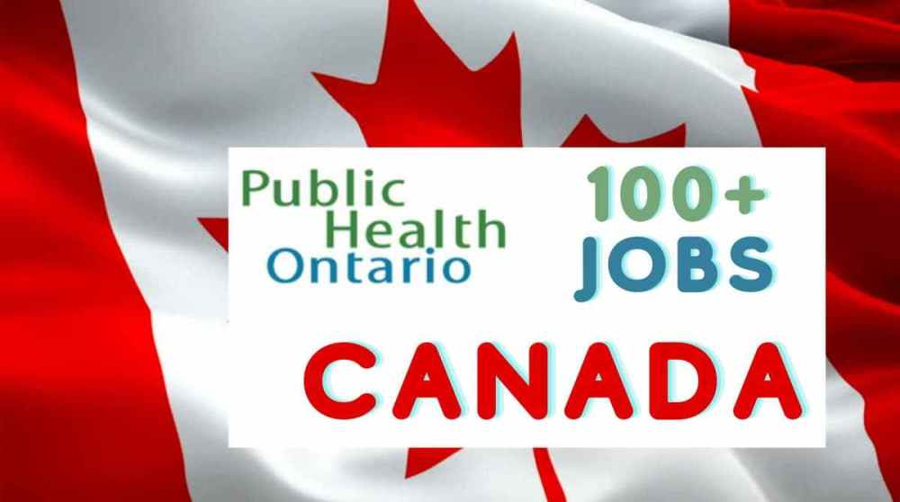Public Health Jobs in Canada 2021