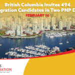 British Columbia offers 494 for PR in two February 16 BCPNP Draws