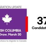 British Columbia Invites 374 for PR Nomination