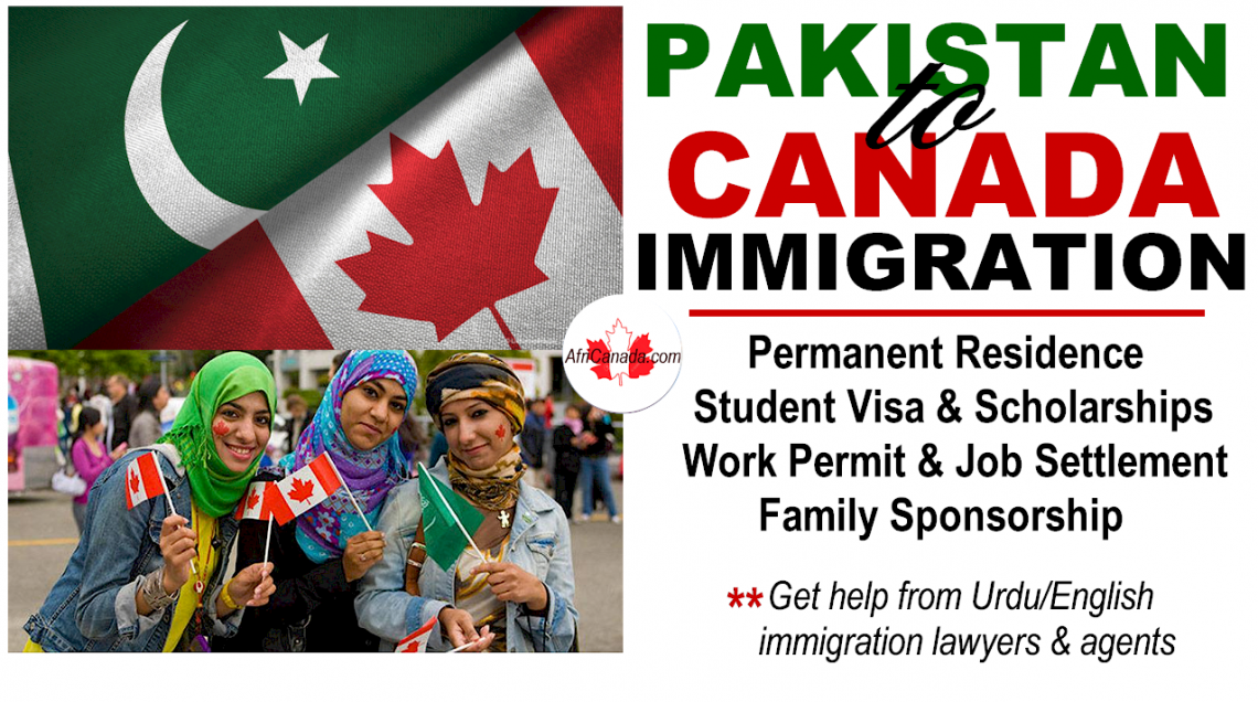 Immigration Layer in Canada for Pakistani Immigrants